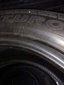 Brand new 20 inch all-terrain tires