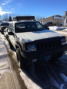 1997 Jeep Grand Cherokee Lifted!!!
