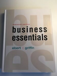 Business Essentials Textbook