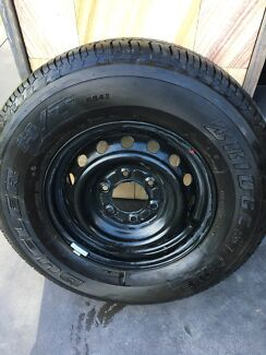 Ford ranger mk2 spare wheel and tyre