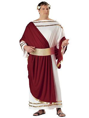 Men's Caesar Greek God Halloween Cosplay Costume Adult 48-52 Plus Size #7305 (God Costume For Men)