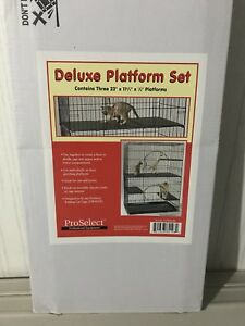 Platform cage for sale - great for cats or other small animals.
