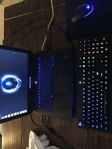 Alienware 15 + Logitech Keyboard and Mouse