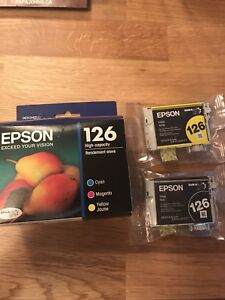 Epson Printer Ink 126 High Capacity