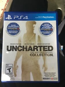Uncharted collection mint condition