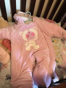 Baby girl snowsuits
