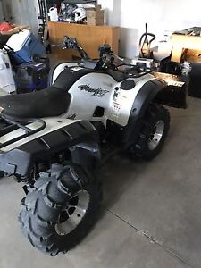 2009 special edition grizzly quad