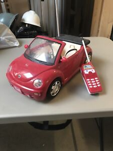 Remote Controller Barbie Volkswagen Beatle R/C Car