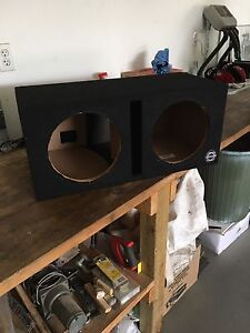"Sub box for 10"" subs"