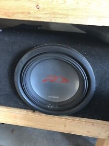 Full stereo system (Subwoofer, amplifiers, deck)