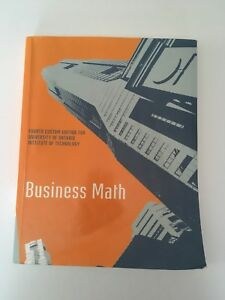UOIT First Year Business Textbooks