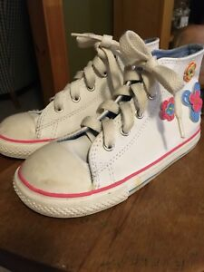 Girls Converse All Star Sneakers - Size 10 (child)