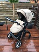 Silver Cross Pioneer pram + bassinet  SAND COLOUR Pakenham Cardinia Area Preview