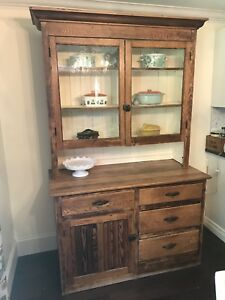 Beautiful Antique Hutch - Sturdy and sound