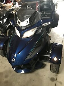 2010 BRP CAN AM SPYDER RT