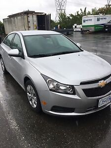 Chevy Cruze 2013 LT Turbo low kilometres extended warranty