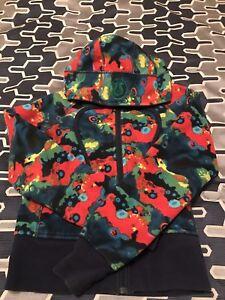 Lululemon size 2 multicoloured scuba hoodie