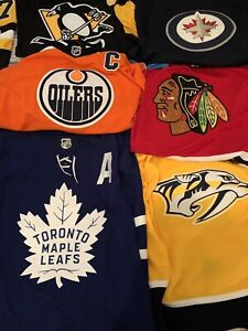 BRAND NEW ADIDAS NHL HOCKEY JERSEYS