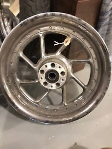 """16"""" Harley Mags with 1"""" Bearings installed"""