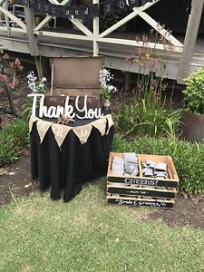 Rustic style Wedding/Event hire Craigmore Playford Area Preview