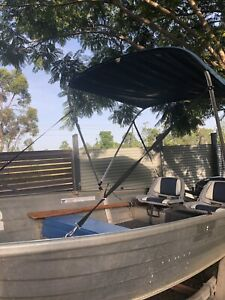 Stacer 3.8, Evinrude 15hp