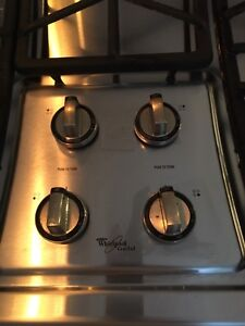 Whirlpool Gold Gas Cooktop