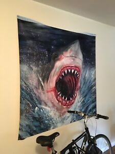 Great White Shark Painting