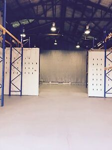 Warehouse for rent.