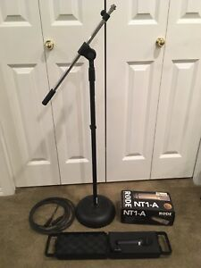 Microphones and stand