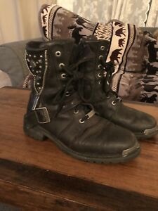 Harley Davidson short boots for woman
