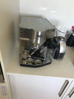 De Longhi EC 860 coffee machine & grinder