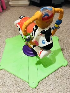 Excellent condition Fisher-Price bounce zebra, $20 only.