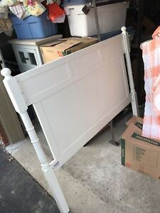 Pier 1 imports head board and queen size bed frame