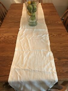 Table runners assorted pottery barn