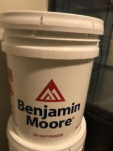Benjamin Moore Paint OC-26 Silver Satin $75 for 18.6 L
