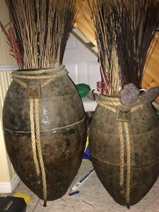 Decorative large vases