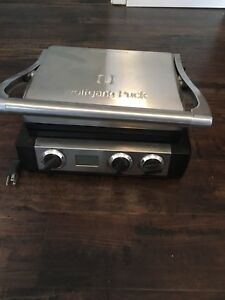 Wolfgang grill/sandwich press- never used- asking 40$