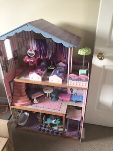 Like new wooden doll house