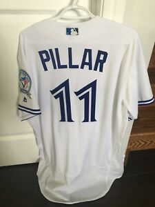 Authentic Kevin Pillar Toronto Blue Jays Jersey