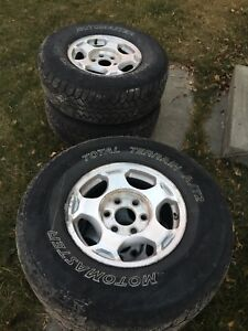 16 inch GM/Chev rims
