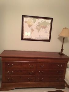 Solid Cherry dresser and Armoire from Art Shoppe