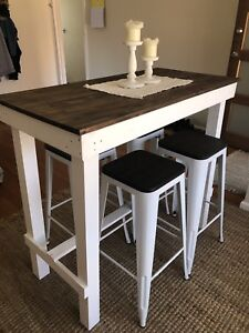 Bar Table & Matching Stools