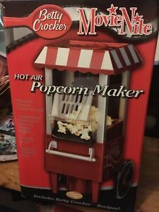 Betty Crocker Movie Nite Hot Air Popcorn Maker