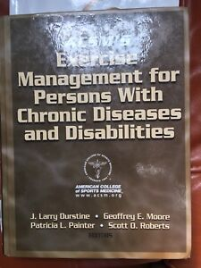 Exercise: management for people with chronic conditions