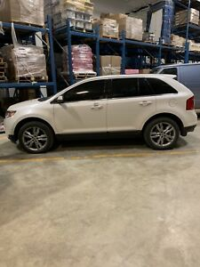 2013 White Ford Edge Limited