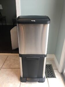 Garbage can stainless steel