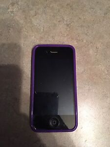 Iphone 4s telus 16g noir 90$