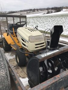 CUB CADET  42 INCH SNOW BLOWER AND MOWER