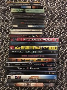 Random collections of DVD and CD