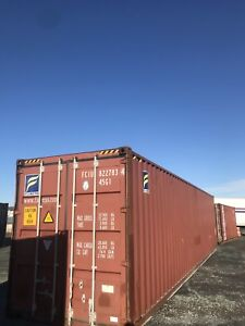 40' High Cube Storage Container . Like New. Shipping Container